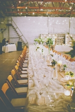 Industrial Wedding http://ruffledblog.com/handmade-industrial-wedding/