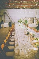 Industrial Wedding http://ruffledblog.com/handmade-industrial-wedding/